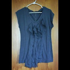 Short sleeve dressy/casual shirt